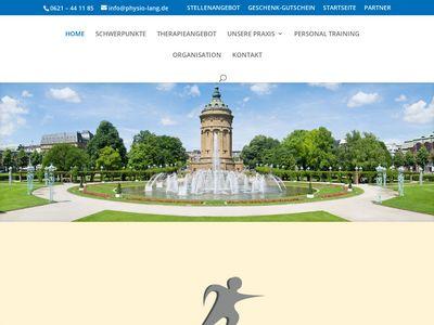 Lang Rudi, Elisabeth Physiotherapie