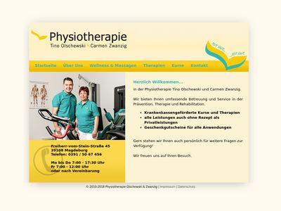 Tino Olschewski Physiotherapie