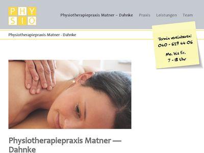Matner Nowack Praxis für Physiotherapie
