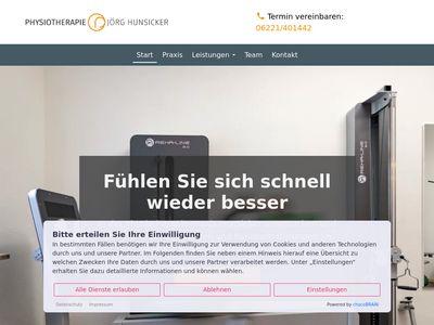 Physiotherapie und Massage Jörg Hunsicker