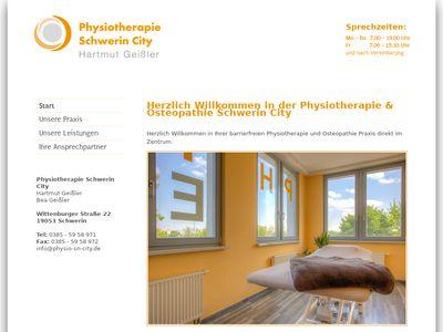 Physiotherapie Schwerin City