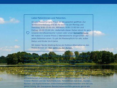Physiotherapie Blau