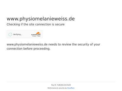 Physiotherapie Melanie Weiss