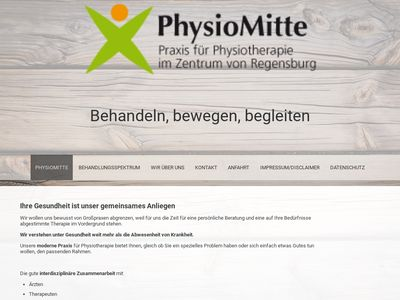 Physiotherapie PhysioMitte