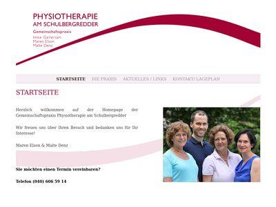 Physiotherapie am Schulbergredder