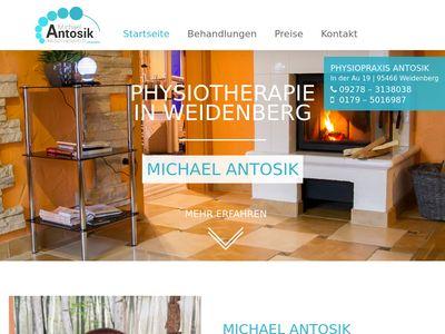 Praxis für Physiotherapie Michael Antosik