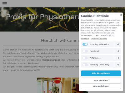 Praxis für Physiotherapie Burger