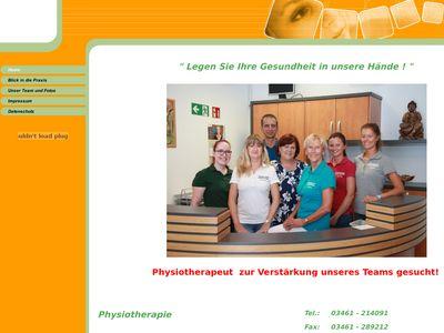 Karola Hofmann Krankengymnastik-Praxis