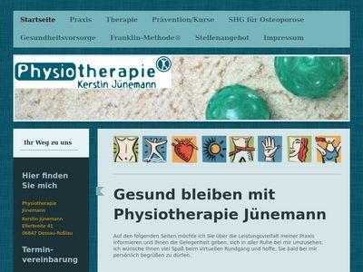 Kerstin Jünemann Krankengymnastik-Praxis