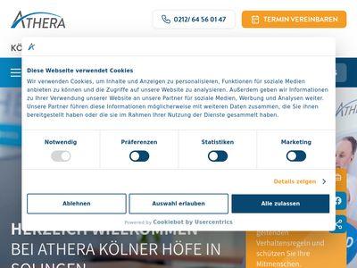Physiotherapie in den Kölner Höfen GbR