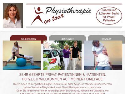 Physiotherapie on tour Mobile Physiotherapie