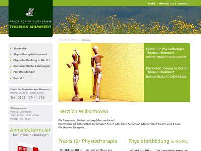 Praxis für Physiotherapie Mummert