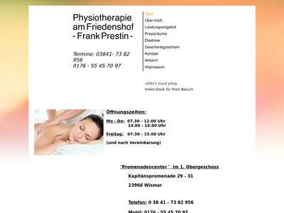 Physiotherapie am Friedenshof