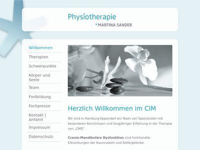 Physiotherapie im CIM