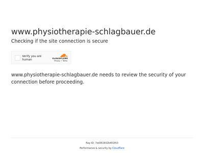 Physiotherapie Schlagbauer