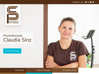 Physiotherapie Claudia Sinz