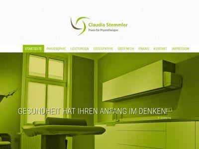 Physiotherapie Claudia Stemmler