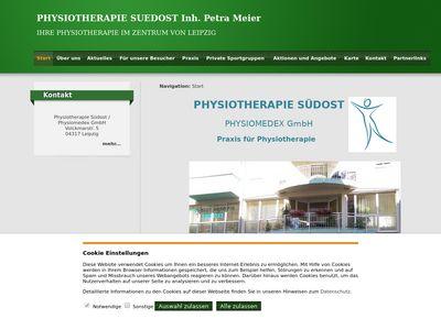 Physiotherapie Südost - Petra Meier