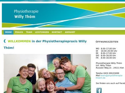 Physiotherapie Willy Thöm