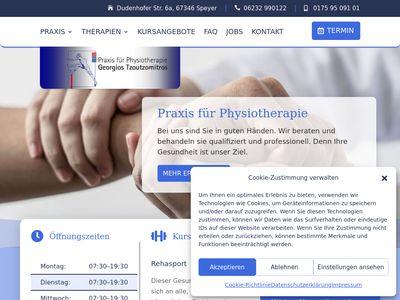 Physiotherapie Tzoutzomitros