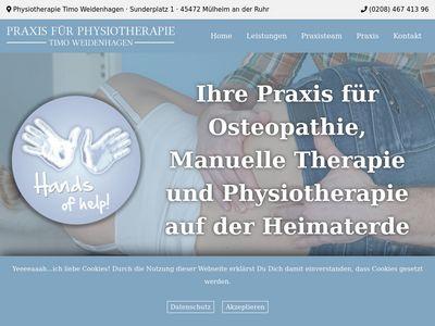 Timo Weidenhagen Praxis für Physiotherapie