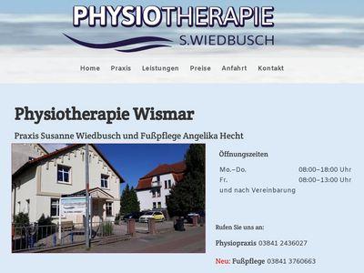 Physiotherapie S. Wiedbusch