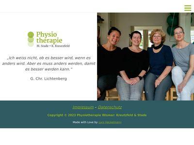 Physiotherapie Wismar Stade u.Hölling
