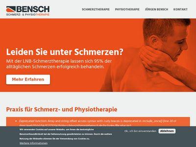 Praxis für Physiotherapie J. Bensch