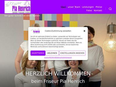 Friseur Pia Henrich