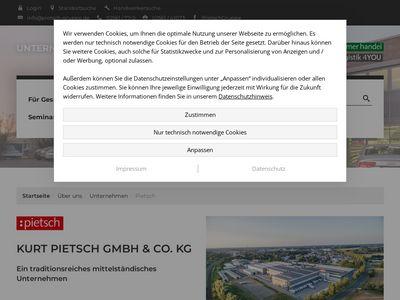 Kurt Pietsch GmbH & Co. KG - Fachcenter