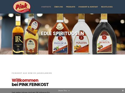 Pink Balkanfeinkost Hamburg