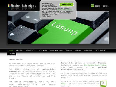 Pixelart-Webdesign