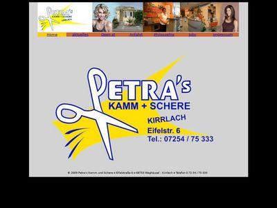 Petras Kamm + Schere