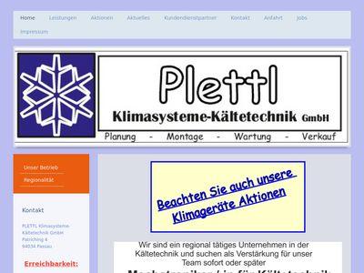 Plettl Klimasysteme- Kältetechnik GmbH