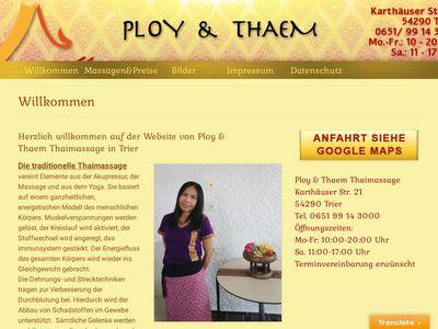 Thaem & Ploy Traditionelle Thaimassa…
