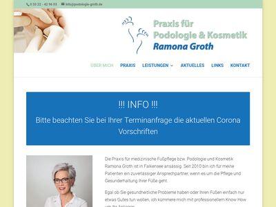 Kosmetik & Podologiepraxis Groth