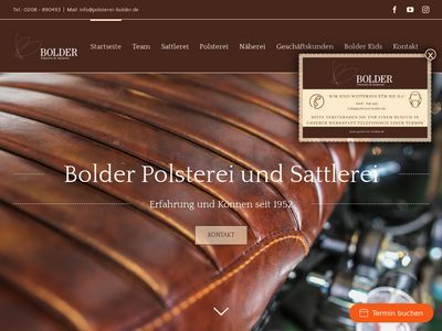 Bolder Polsterei & Sattlerei