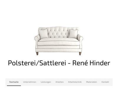 Polster & Sattlerei Rene Hinder