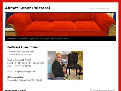 Ahmet Şener Polsterei - Hamburg