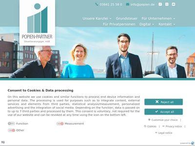 Popien+Partner Steuerberatung
