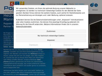 Poppele - Sanitär und Heizung GmbH