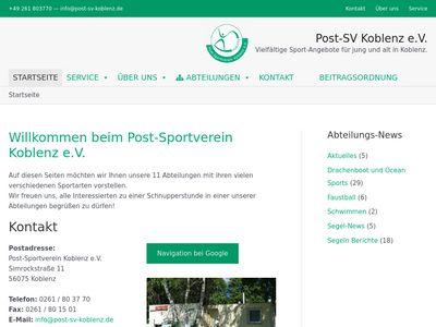 Post-Sportverein Koblenz e.V.