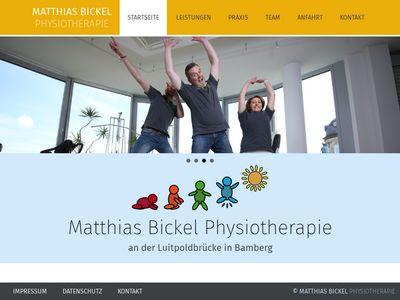 Matthias Bickel Krankengymnastik-Praxis