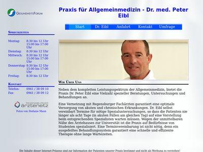 Dr.med. Peter Eibl Praktischer Arzt