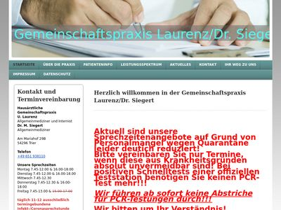 Dr.med. Michael Siegert Praktischer Arzt