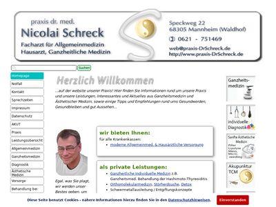 Praxis Dr. Nicolai Schreck