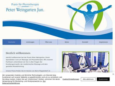 Praxis für Physiotherapie Peter Weingarten