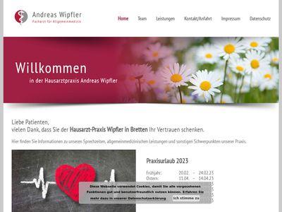 Andreas Wipfler Arzt für Allgemeinmedizin