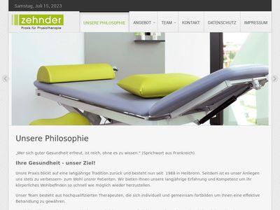 Zehnder Praxis für Physiotherapie