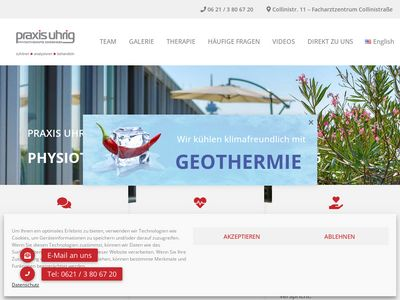 Praxis Uhrig - Physiotherapie Mannhe…